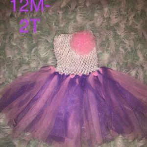 New Tull tutu dress 12M-2T